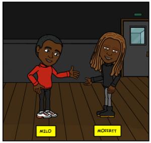 Title Milo and Moffatt